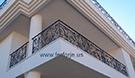 ferorje balkon demir modeli el isciligi ile imal edilmistir kod: TBL-02